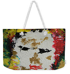 Trinity Panel Two Weekender Tote Bag