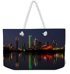 Trinity River Dallas Weekender Tote Bag
