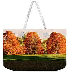 Trinity Trees Weekender Tote Bag by Hye Ja Billie