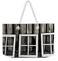 Weekender Tote Bag featuring the photograph Trio by Brad Allen Fine Art