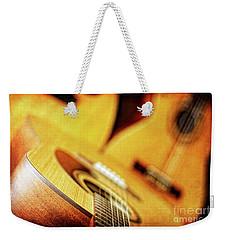 Trio Of Acoustic Guitars Weekender Tote Bag