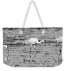 Trio Of Cranes Weekender Tote Bag