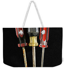 Trio Of Screwdrivers Weekender Tote Bag