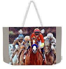 Triple Crown Winner Justify Weekender Tote Bag