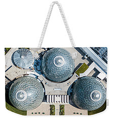 Weekender Tote Bag featuring the photograph Triple D Cups by Randy Scherkenbach