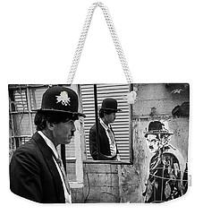 Triple Weekender Tote Bag