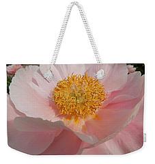 Triple Layer Pink Poppy Weekender Tote Bag