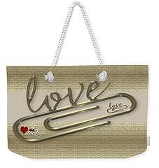 Triple Love Weekender Tote Bag