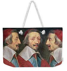 Triple Portrait Of The Head Of Richelieu Weekender Tote Bag