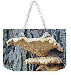 Triple Shelf Mushrooms Weekender Tote Bag
