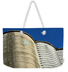 Triple Silo With Star Weekender Tote Bag