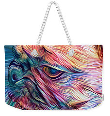 Trippy Arabella Weekender Tote Bag by Matt Lindley
