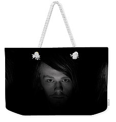 Weekender Tote Bag featuring the photograph Triptych by Ian Thompson