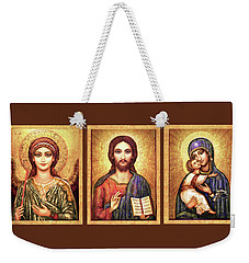 Triptych Icons Weekender Tote Bag