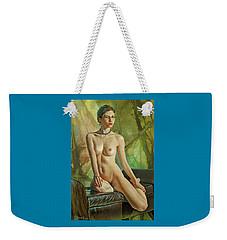Trisha 235 In Abstract Weekender Tote Bag