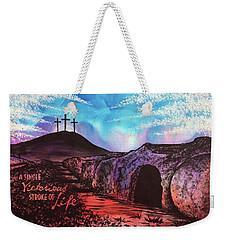 Triumphant Life Weekender Tote Bag