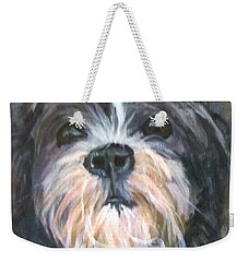 Trixie Weekender Tote Bag by Barbara O'Toole