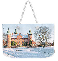Trolleholm Castle In The Snow Weekender Tote Bag
