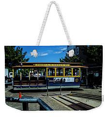 Trolley Car Turn Around Weekender Tote Bag