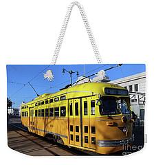 Trolley Number 1052 Weekender Tote Bag by Steven Spak