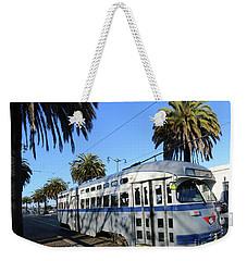Trolley Number 1070 Weekender Tote Bag by Steven Spak