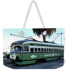 Trolley Number 1078 Weekender Tote Bag by Steven Spak