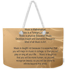 Trombone Why Music T-shirts Posters 4828.02 Weekender Tote Bag