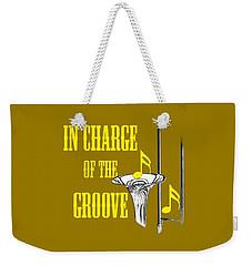 Trombones In Charge Of The Groove 5534.02 Weekender Tote Bag
