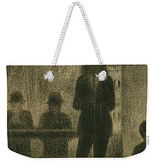Trombonist  Weekender Tote Bag by Georges-Pierre Seurat