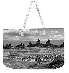 Trona Pinnacles Peaks Weekender Tote Bag by Marius Sipa