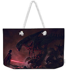 Troopers Vs Space Cockroaches 9 Weekender Tote Bag by Guillem H Pongiluppi