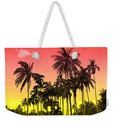 Tropical 9 Weekender Tote Bag