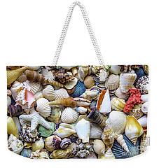Tropical Beach Seashell Treasures 1529b Weekender Tote Bag
