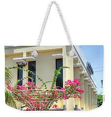 Tropical Bougainvillea Weekender Tote Bag