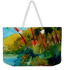 Tropical Canal Weekender Tote Bag