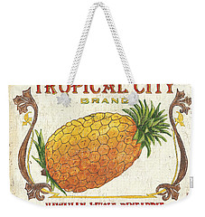 Tropical City Pineapple Weekender Tote Bag