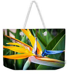 Tropical Closeup Weekender Tote Bag
