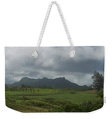 Tropical Countryside Weekender Tote Bag