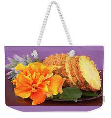 Tropical Delight Still Life Weekender Tote Bag by Ben and Raisa Gertsberg