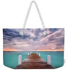 Tropical Drama Weekender Tote Bag by Nicki Frates