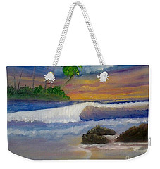 Tropical Dream Weekender Tote Bag by Holly Martinson