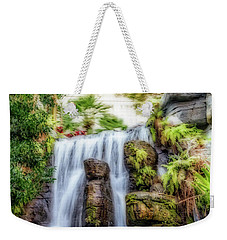 Tropical Falls Weekender Tote Bag