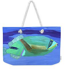 Tropical Fish Weekender Tote Bag by Karen Nicholson