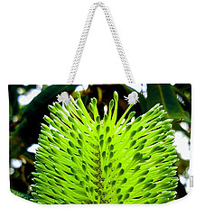 Tropical Flower Weekender Tote Bag