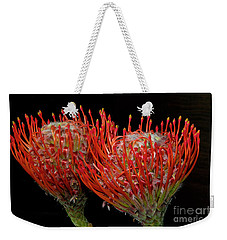 Tropical Flower Weekender Tote Bag by Elvira Ladocki