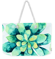 Tropical Flower  Weekender Tote Bag by Mark Ashkenazi