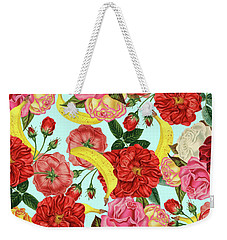 Tropical Forest Weekender Tote Bag by Uma Gokhale