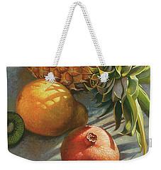 tropical Fruit Large Weekender Tote Bag