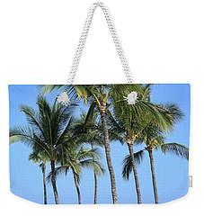 Weekender Tote Bag featuring the photograph Tropical Hawaiian Day by Pamela Walton