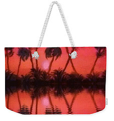 Tropical Heat Wave Weekender Tote Bag